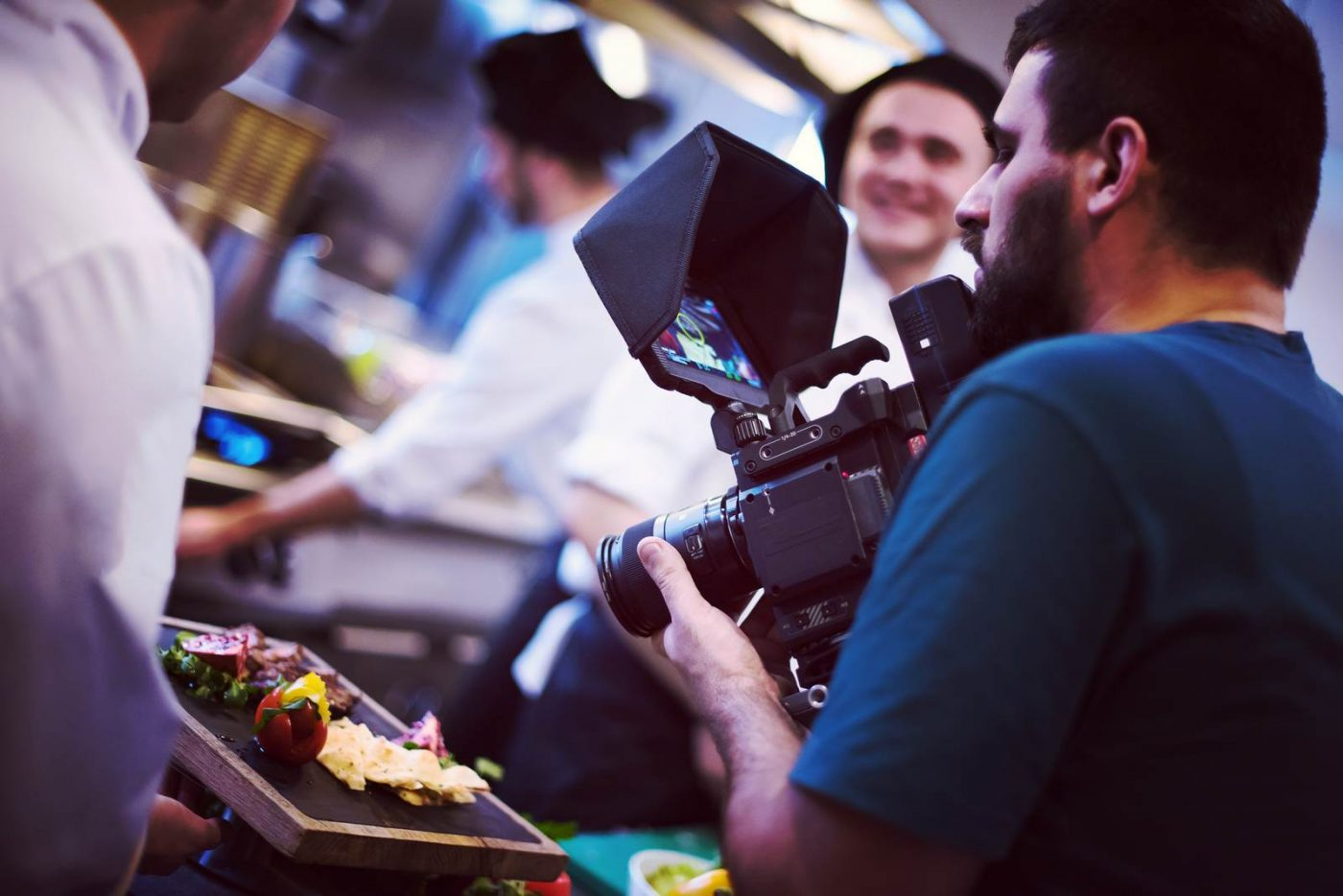 commercial videography team shoots video in Phoenix